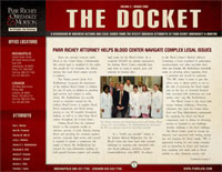 The Docket - March 2008